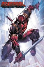 DEADPOOL - ATTACK COMIC POSTER - 22x34 - MARVEL 16116