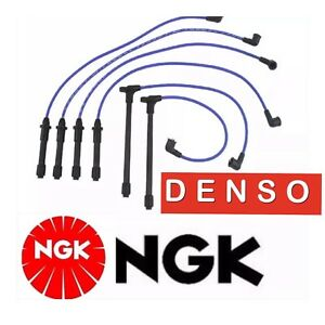 OEM NGK /DENSO SPARK PLUG IGNITION WIRE FOR 1999-2004 NISSAN FRONTIER V6 3.3L