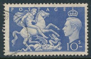 GB 1951 ULTRAMARINE 10/- USED  SG511 our ref B1