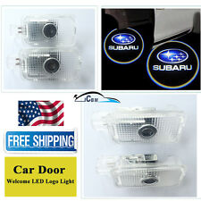 2x Ghost LED Door Logo Courtesy Laser Lights For Subaru Forester Impreza Outback
