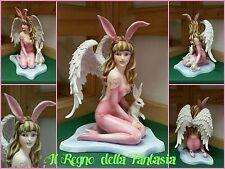 ANGELO ANGEL FAIRY FEES ELFEN FATA CON CONIGLIO NO LES ALPES