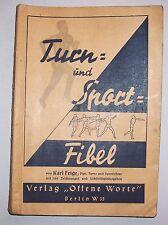 Turn - und Sportfibel von Karl Feige um 1935 !