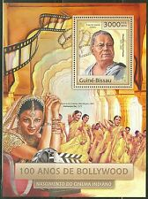 GUINEA BISSAU 2013 100th ANNIVERSARY OF BOLLYWOOD SOUVENIR SHEET