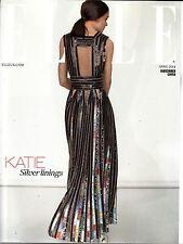ELLE 4/2014 KATIE HOLMES Corinna Ingenleuf VALERIANE LE MOI Limited Edition @NEW