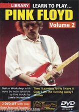 LICK LIBRARY Learn to Play PINK FLOYD Have a Cigar Mother Time GUITAR DVD Vol 2