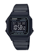 GENUINE Casio B650WB-1B Classic Retro Black Stainless Steel Mens Womens Watch AU