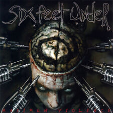 Six Feet Under 'Maximum Violence' LP Black Vinyl - NEW & SEALED