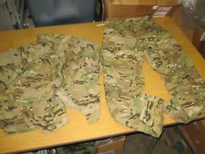 Multicam Jacket + Pants Set OCP Small R USGI  Insect Flame Resistant Aircrew