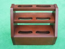 Small Wood Wooden Retail Counter Shelving Display Rack Stand
