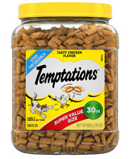 NEW Temptations Classic Crunchy and Soft Cat Treats Chicken, 30 oz.FREE SHIPPING