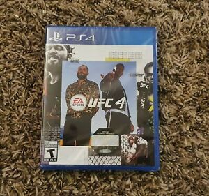 UFC 4 PlayStation 4 PS4 Game Brand New Sealed Free Shipping