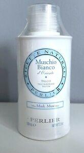 Perlier White Musk Talc Powder 3.5oz