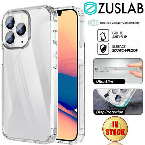 For Apple iPhone 13 Pro Max mini Case Crystal Clear Heavy Duty Shockproof Cover