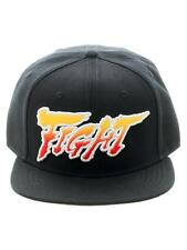 OFFICIAL STREET FIGHTER V - 'FIGHT' SNAPBACK CAP WITH PRINTED VISOR (BRAND NEW)