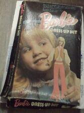 Barbie Dress Up Kit Colorforms Set 1970's  Vintage, Complete in Box