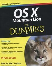 OS X Mountain Lion For Dummies-ExLibrary