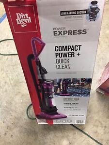 Dirt Devil Power Express Upright Bagless Vacuum Berry/purple