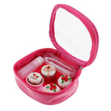 Portable Contact Lens Container Box Soak Kit Cute Travel Holder Storage Case