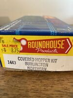 Roundhouse HO Scale Vintage Kit #1443 Burlington Northern Covered Hopper