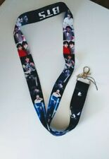 BTS K-POP Keychain Lanyard ID Keychain