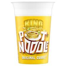 Pot Noodle King Pot Noodles Curry (114g) - Pack of 6