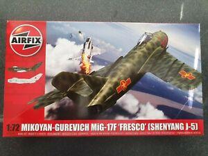 AIRFIX A03091 Mikoyan-Gurevich MiG-17 Fresco 1:72 Aircraft Model Kit