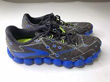 Brooks Neuro Men's Running Shoes, Charcoal / Electric Blue - Men's Size 9 D