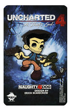 Uncharted 4 Nathan Drake Pin by Naughty Dog Erick Scarecrow Design