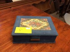 Brooches/Pins Antique Velvet Jewellery Boxes