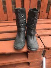 Ash Women's  studded Biker boots