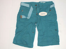 Esprit Bermuda Short 037CC1C004 edc Play Turn up Blau (Teal Blue 455) NEU  (34)