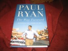 The Way Forward : Renewing the American Idea by Paul Ryan (2014,HD) SIGNED