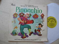 "WALT DISNEY 1963 ""PINOCCHIO"" VNTGE US ORGL SNDTRK LP When You Wish Cliff Edwards"