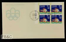 1976 Montreal Olympics Canada First Day Cover - Ottawa Cancel