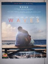 WAVES BLU RAY + SLIPCOVER SLEEVE FREE WORLD WIDE SHIPPING