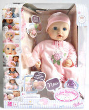 Zapf Creation Baby Annabell Doll  Wetting Function Cries Real Tears Brand New