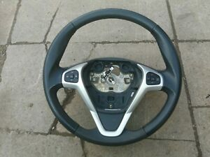 Ford Fiesta mk7 titanium steering wheel blue 2008-2012