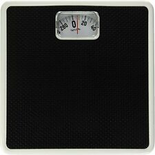 Mechanical Rotating Dial Scale Dial Analog Bathroom Read Weight Black