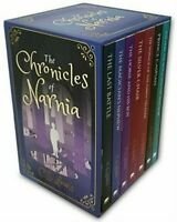 NEW The Chronicles of Narnia Complete 7 Books Collection Gift Set by C.S.Lewis!