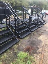 Steps,platforms,containers,cabins,toilet blocks,heavy duty,access steps,Hire