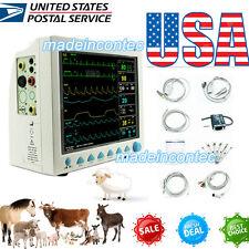 Contec Vet Veterinary Vital Signs Patient Monitor Ecgnibpspo2prresptemp Usa