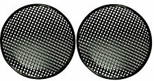 12 INCH SUBWOOFER SPEAKER COVERS WAFFLE MESH GRILL GRILLE PROTECT GUARD 2 Pair