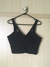 NEW WITHOUT TAGS Dotti Black Singlet Party Going Out Top Size M Medium