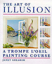 The Art of Illusion: A Trompe l'Oeil Painting Course-ExLibrary
