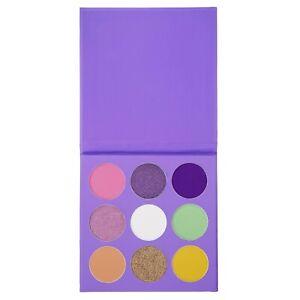 9 colour multicolour spring eyeshadow palette
