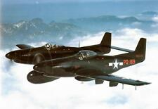 """Model Airplane Plans (UC): F-82 Twin Mustang 39"""" 1/16 Scale for .19-.25 Engine"""