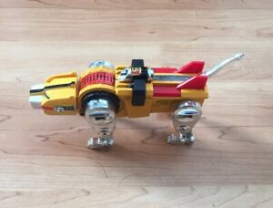 Vintage Diecast Voltron Yellow Lion Y & K 1981 Gb 36 Made In Japan