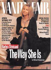 Vanity Fair  magazine  November 1994  Barbra Streisand  Altman's  Prêt-à-Porter