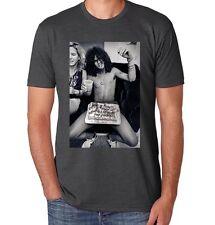 Slash Guns N Roses Birthday T shirt in charcoal  S, M, L, XL Axl Rose GNR