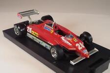 Brumm 1/43 Ferrrari 126c2 GP San Marino 1982 Didier Pironi formula 1 in OVP #324